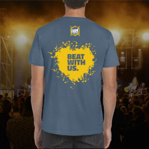 T-Shirt Beat With Us
