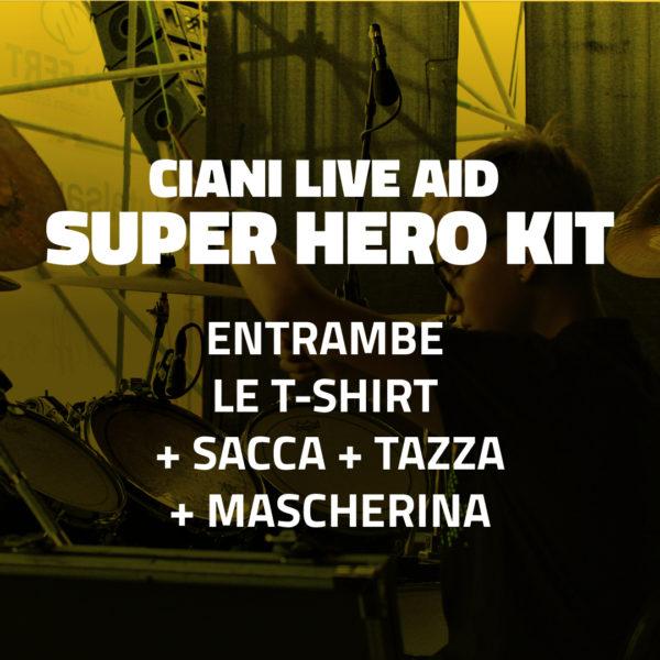 Ciani Live Aid Super Hero Kit